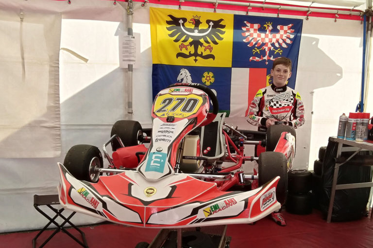 Adam Kowalski – 2. místo ve světovém finále Easykart 100